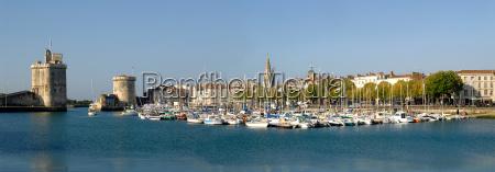 panorama of port of la rochelle