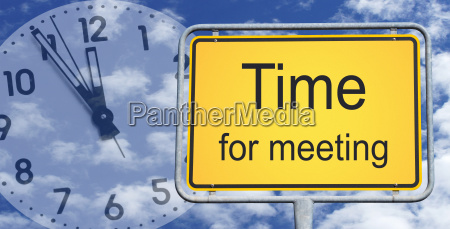 time for meeting