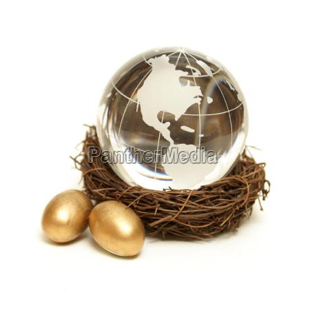 globales wohlstandskonzept