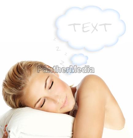 schlafen maedchen