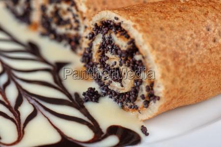 pfannkuchen, mit, mohnsamen - 8836110