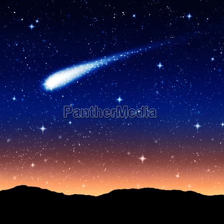 sternenhimmel in der nacht