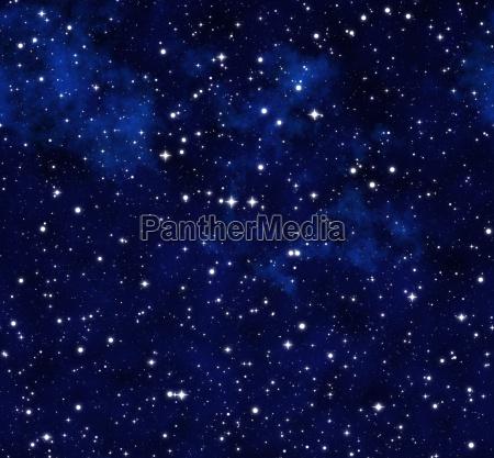 space nacht nachtzeit weltraum illustration gestirne