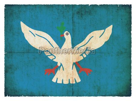 grunge flagge salvador de bahia brasilien