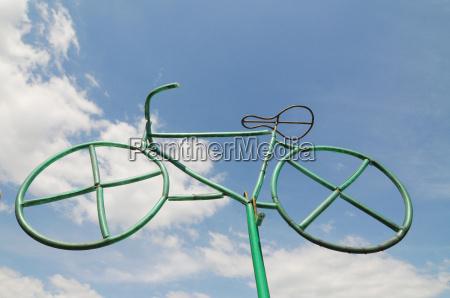 feature symbol fahrrad rad zweirad strasse