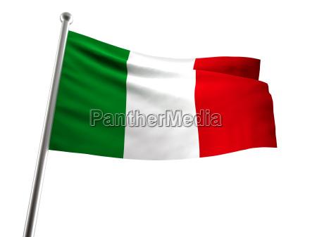 fahne gemeinschaft flagge italiener country italienisch