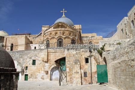 grabeskirche in jerusalem israel