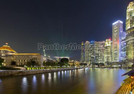 stadt grossstadt singapur skyline deal geschaeft