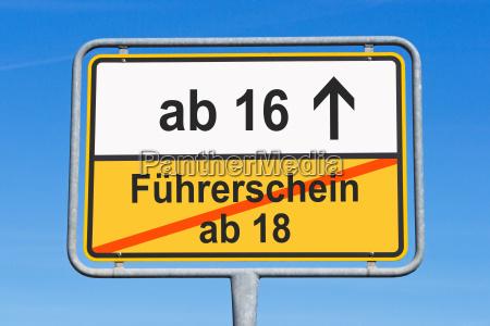 fuehrerschein ab 16