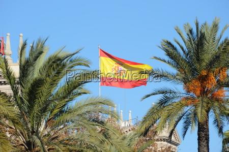 barcelona spanien architektur postmodern
