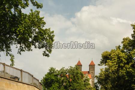quedlinburg view to the castle