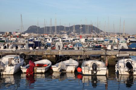 marina in algeciras provinz cadiz andalusien
