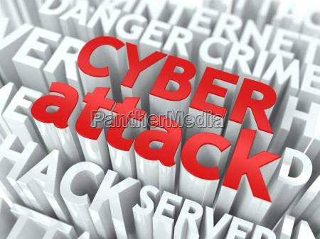 cyber angriffs konzept