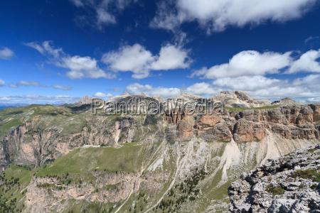 dolomiten alpen luftbild voralpen landschaftsbild landschaft