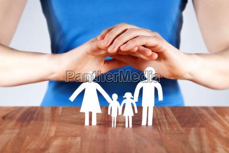 schutz einer familie