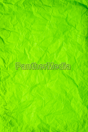 gruenes zerknitterter papier hintergrund