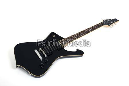 e gitarre schwarz