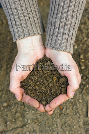 hand hands agriculture farming spring gardener
