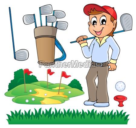 bild mit golf thema 6