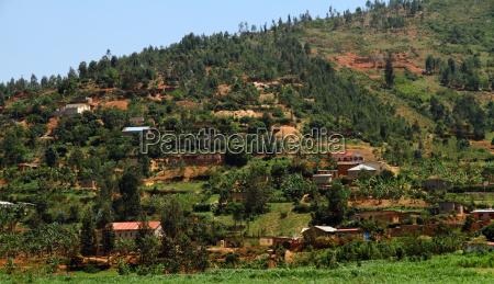 afrika tropische tropisch eigenheime landschaft natur