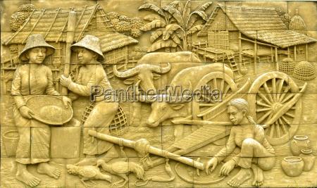 kultur stein landwirtschaft ackerbau mauer traditionell