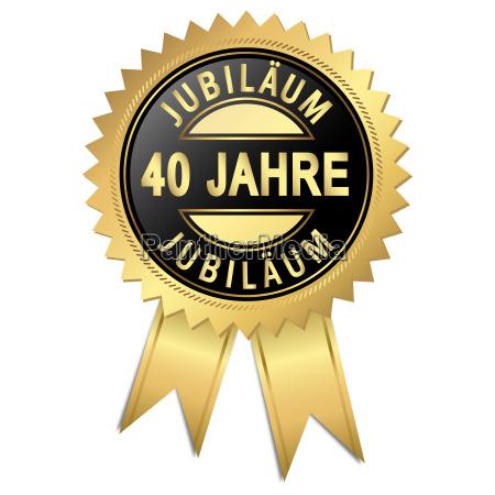 jubilaeum 40 jahre