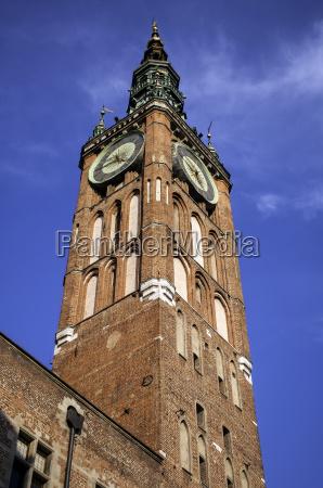 medieval clock tower