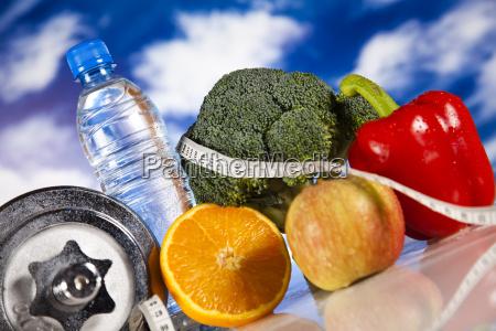 ernährung, und, fitness - 9175574