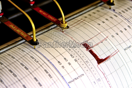 seismograph for drilling
