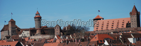 nuernberger kaiserburg burggrafenburg jugendherberge fuenfeckturm heidenturm