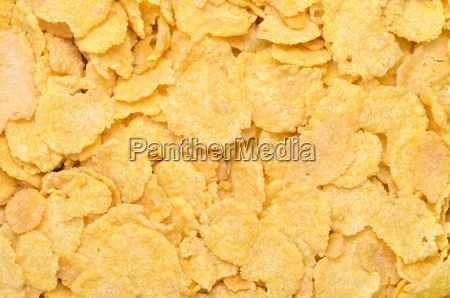 corn flakes as a background