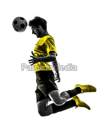 brasilianische fussball football spieler junger mann