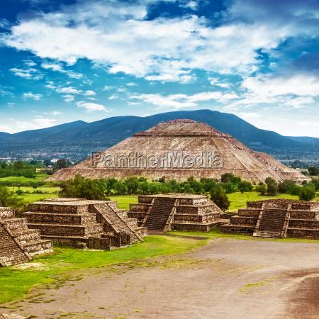 pyramiden von mexiko