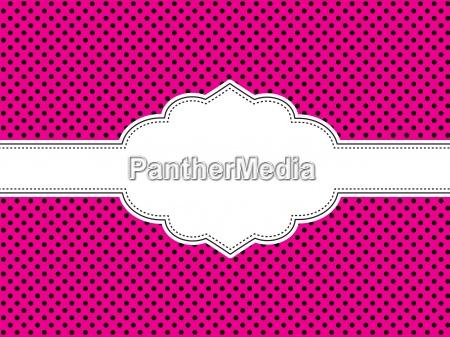 rosa tupfen hintergrund