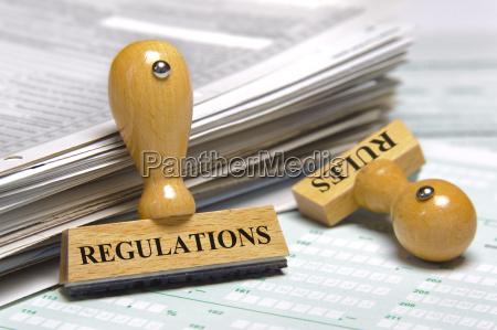 regeln und vorschriften