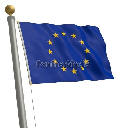 europa comunidad bandera ue union europeo