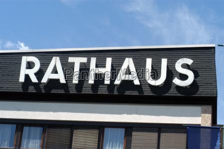 rathaus gemeinde staatsorganisation kommune