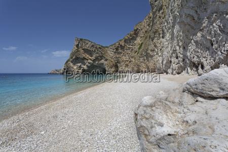 paradise beach naehe paleokastritsa korfu