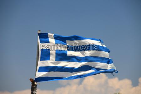 griechenland fahne flagge flag