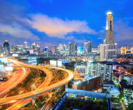 bangkok autobahn innenstadt