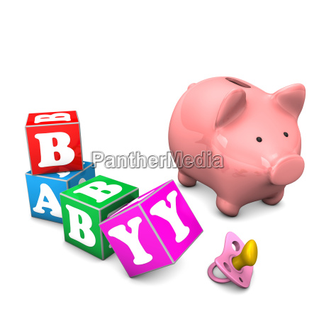 piggy bank baby