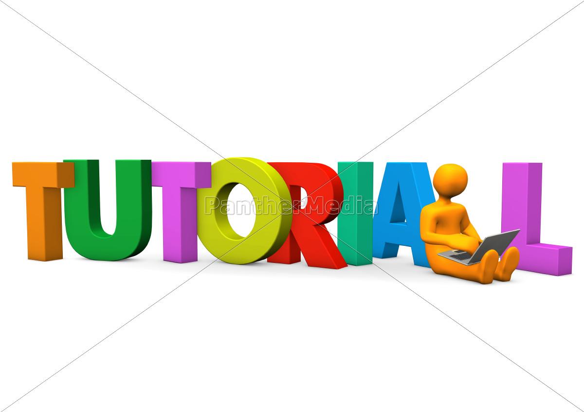 tutorial, manikin, laptop - 9443382