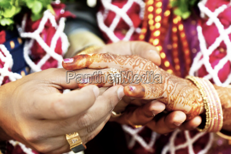 great hindu wedding with this ring