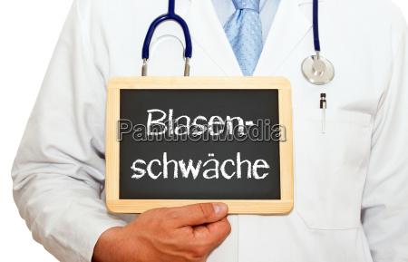 blasenschwaeche