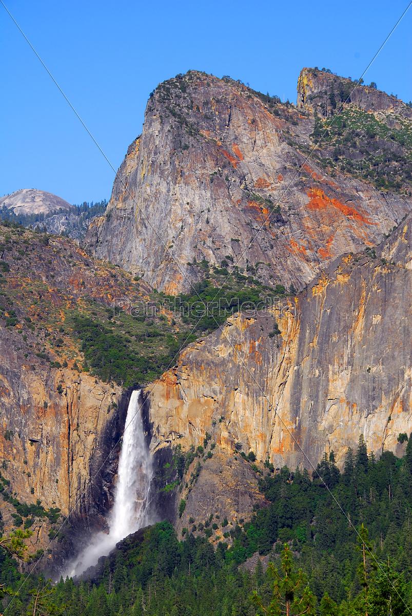 bridalveil, fall, tunnel, blick, yosemite, nationalpark - 9487216