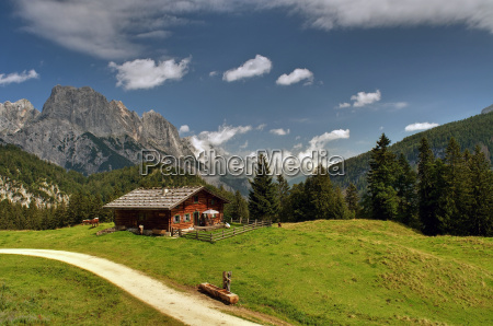 alm bayern berchtesgaden berge litzlalm muehlsturzhoerner