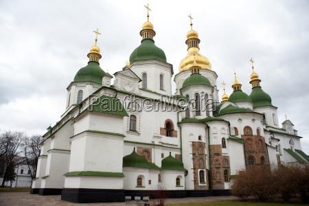 sophienkathedrale in kiew ukraine