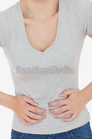 frau von magen leiden