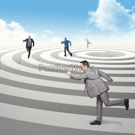 run in circle