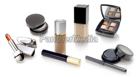make ups und kosmetik auswahl